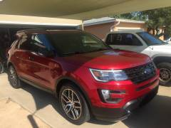 2016 Ford Explorer Sport Ruby Red