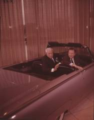John Dykstra with Henry Ford II